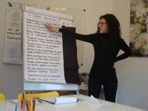 Karin Martin, attività di formazione e istruzione in ambito multilinguismo